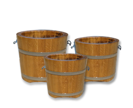 Large sized planter tubs