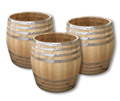 Water tight tub  (Wooden water butts)