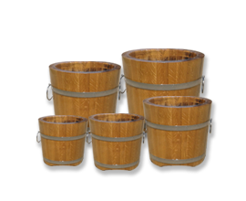 Small sized planter tubs