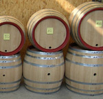 Oak wine barrel 200 l